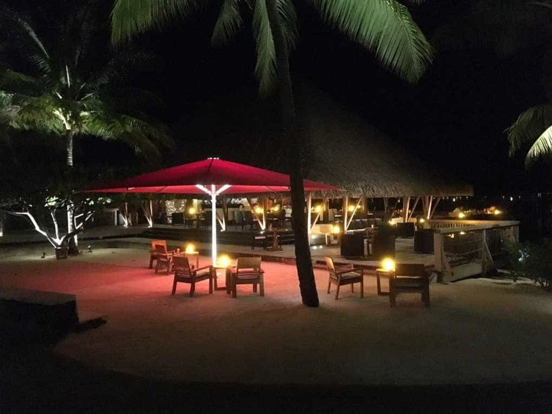 Four Seasons Resort Bora Bora Shade7 Tempest Commercial Umbrella