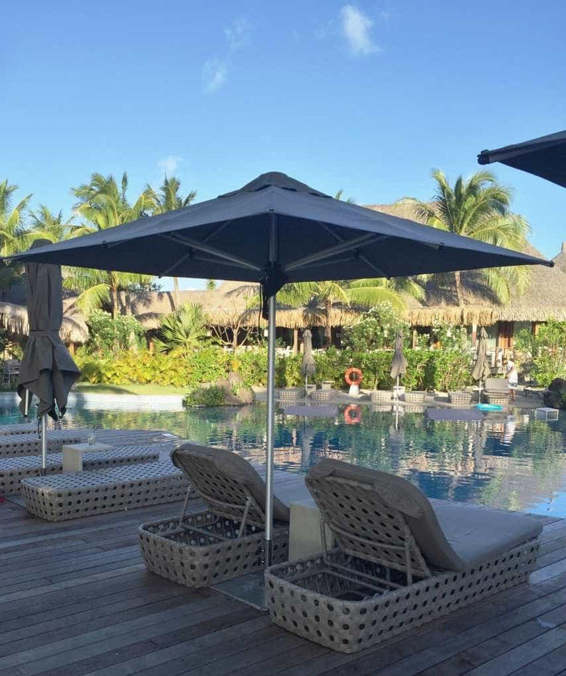 St Regis Bora Bora Resort Monaco Outdoor Umbrella from Shade7