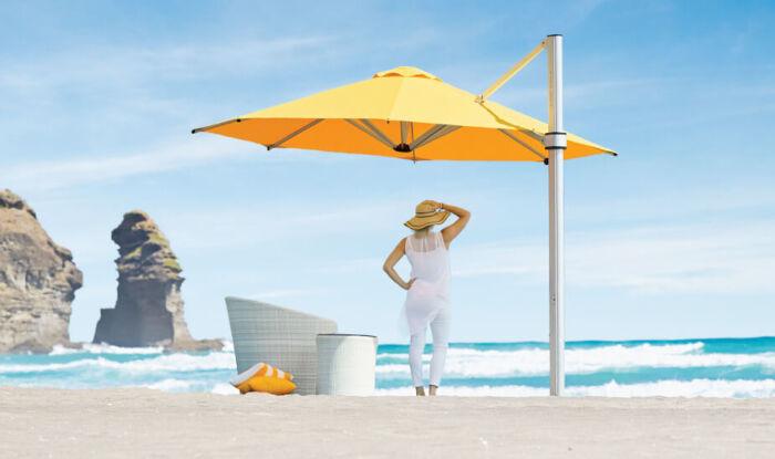 Riviera Heavy Duty Cantilever Umbrella Auckland
