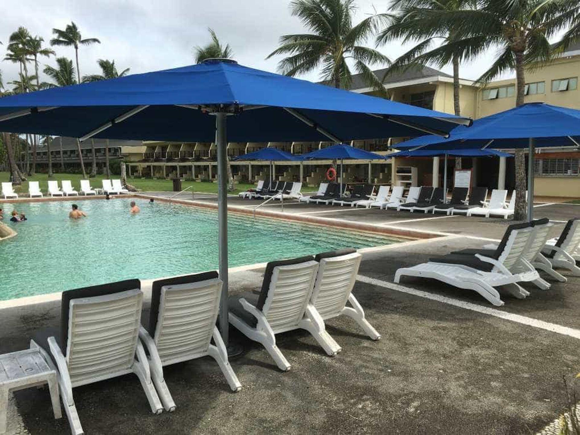 Shangri-La Resort Fiji Tempest Outdoor Umbrellas
