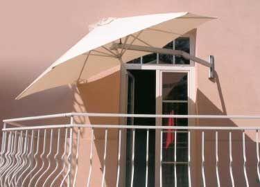 Great sun umbrella for small spaces