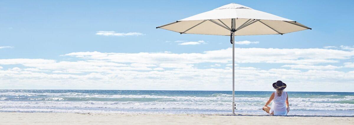Large Outdoor Sun Umbrella NZ