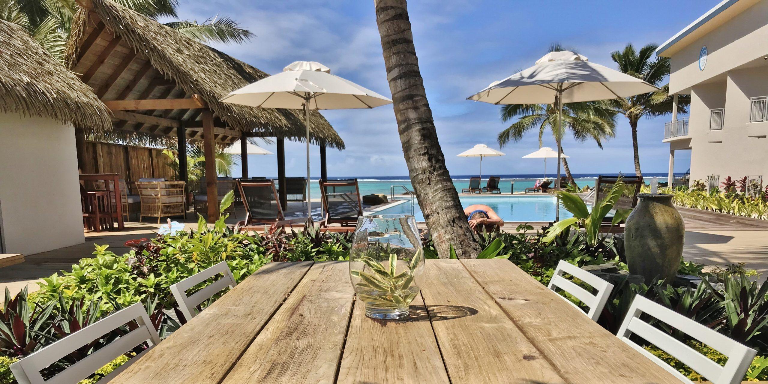 Moana Sands Lagoon Resort Outdoor Sun Umbrella