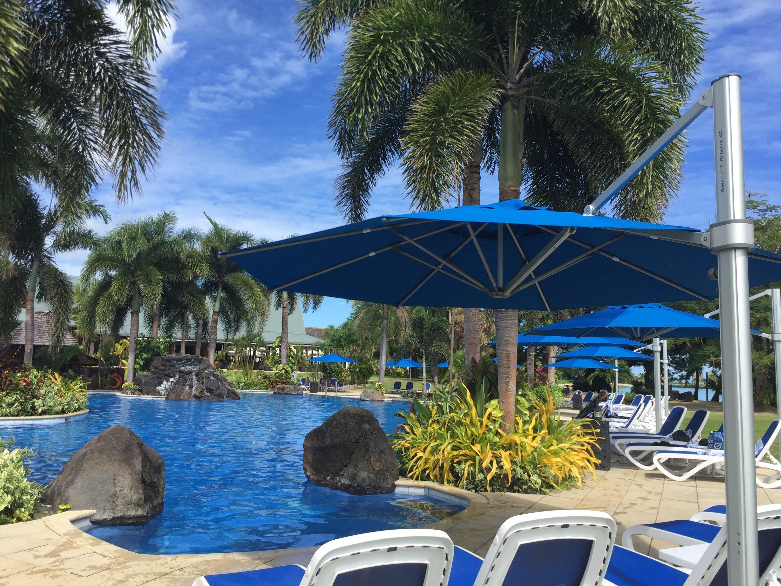 Sheraton Samoa Beach Resort Riviera Cantilever Umbrella
