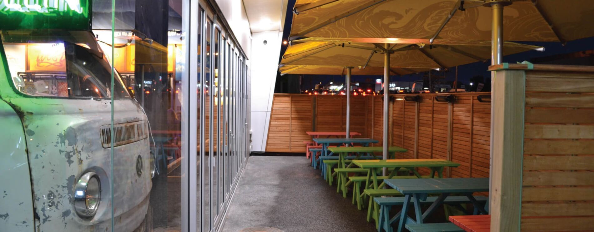 Commercial Outdoor Umbrellas with Branding