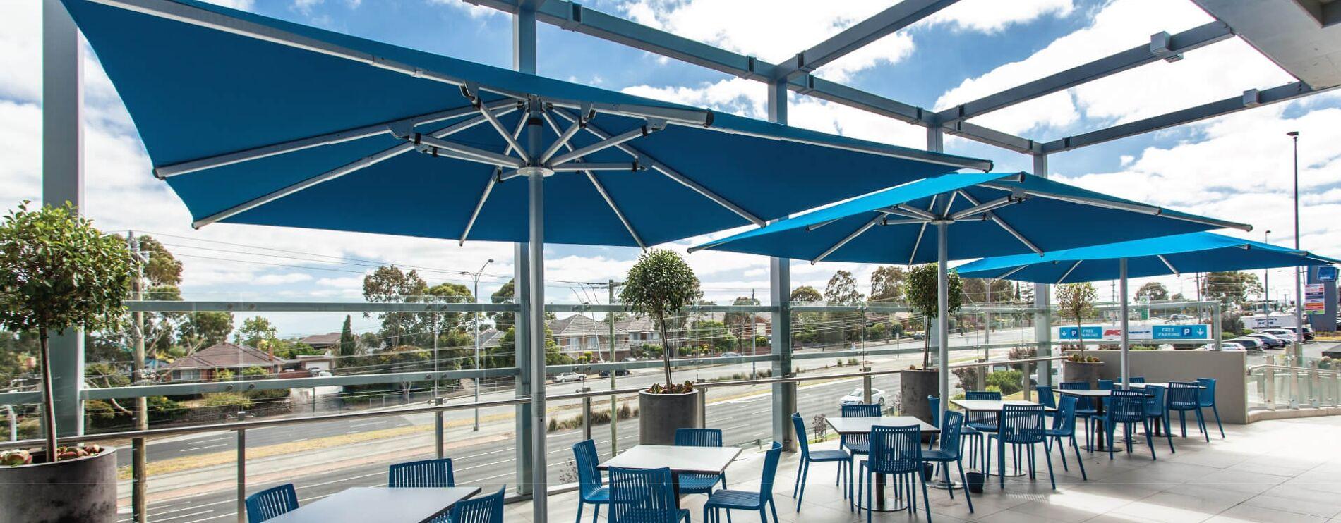 Giant Commercial Outdoor Umbrellas