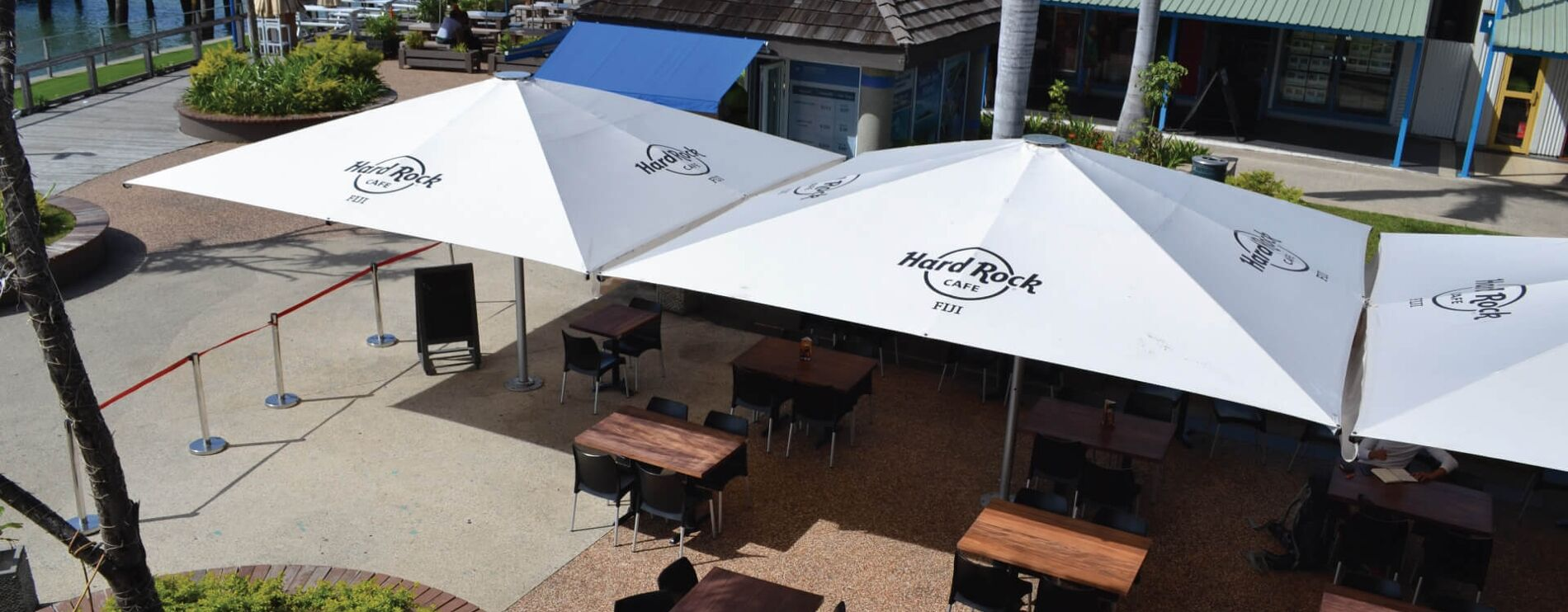 Giant Square Commercial Outdoor Umbrellas with Printing