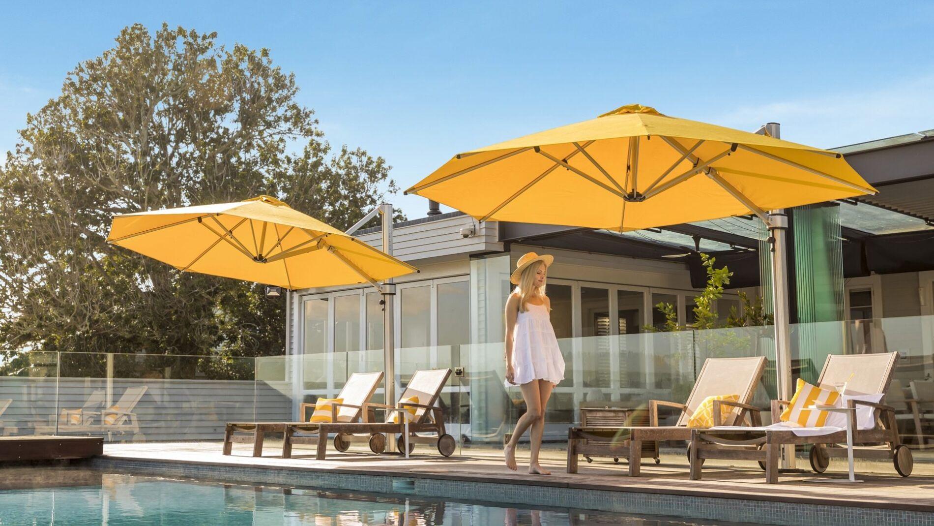 Riviera Cantilever Umbrellas
