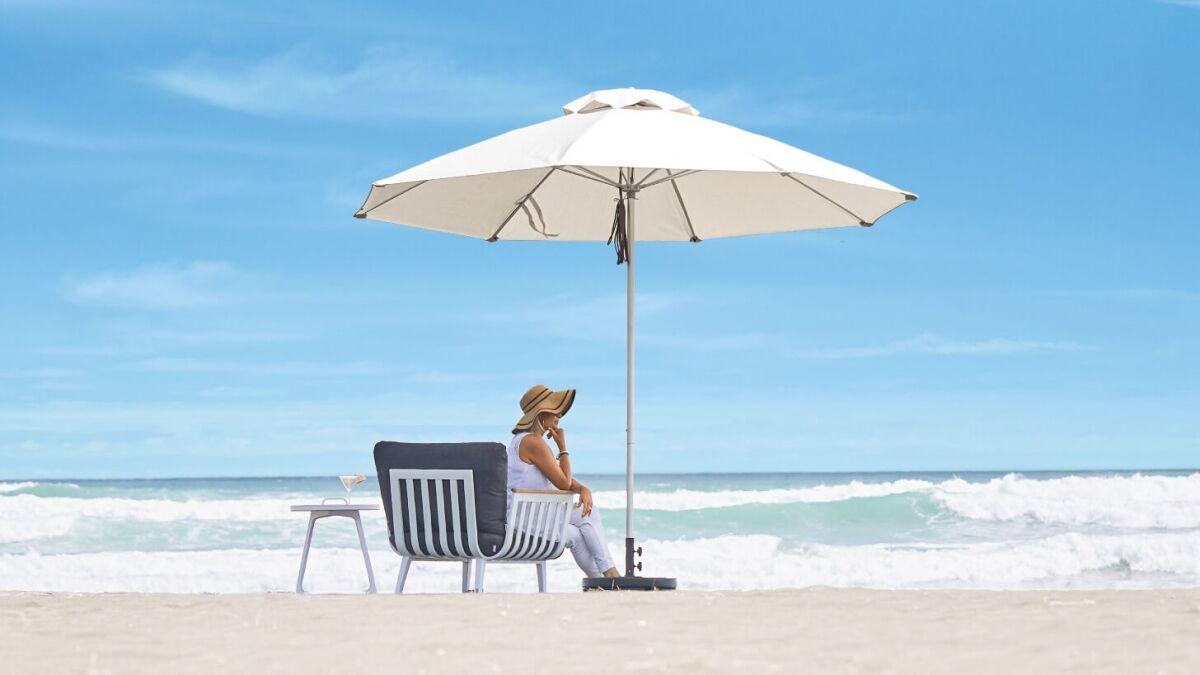 White Sun Umbrella