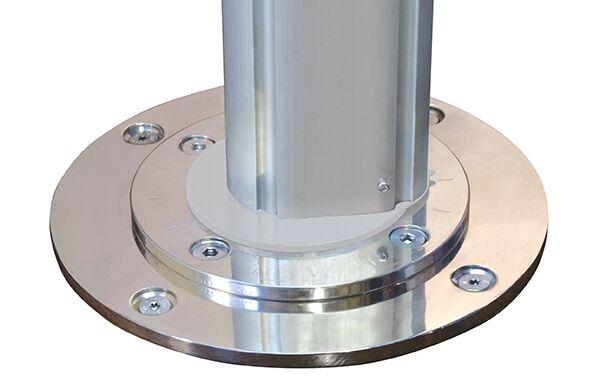 Riviera Stainless Steel Base Plate spigot