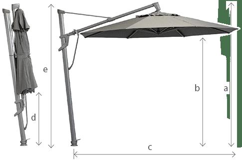 stellar cantilever umbrella specs edit