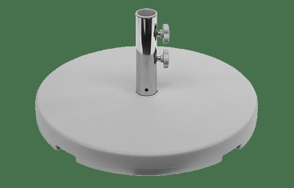 concrete grey umbrella base kg dec