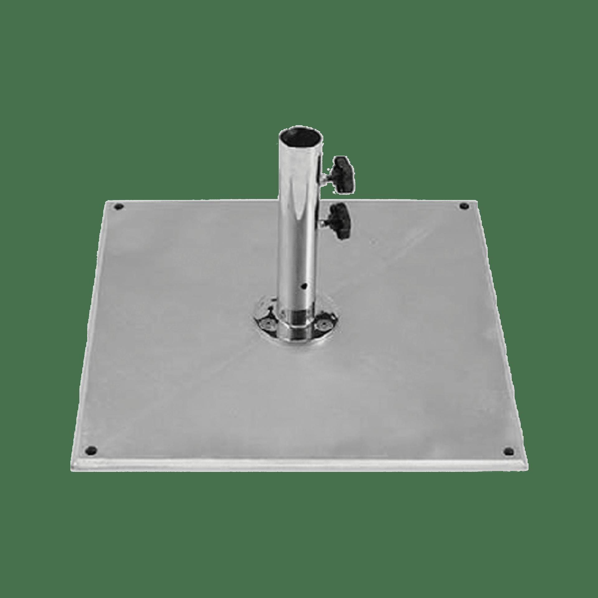 outdoor umbrella base premium galvanised