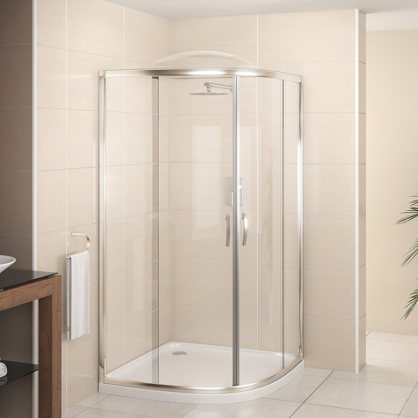 showerdome curved cs