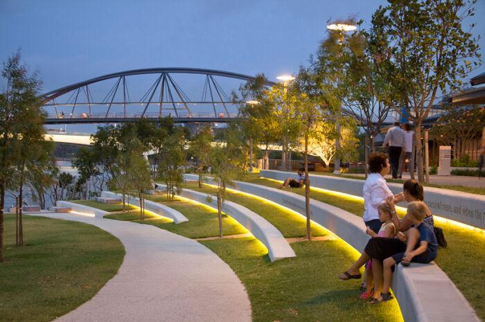 Terraced Public Space
