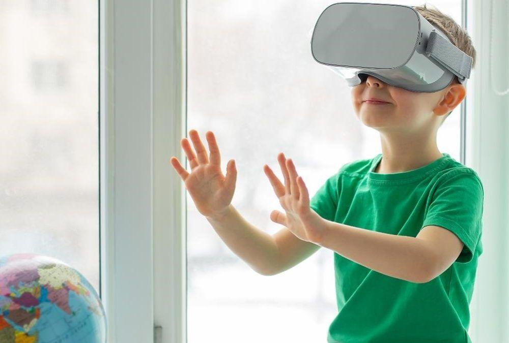 VR young boy web
