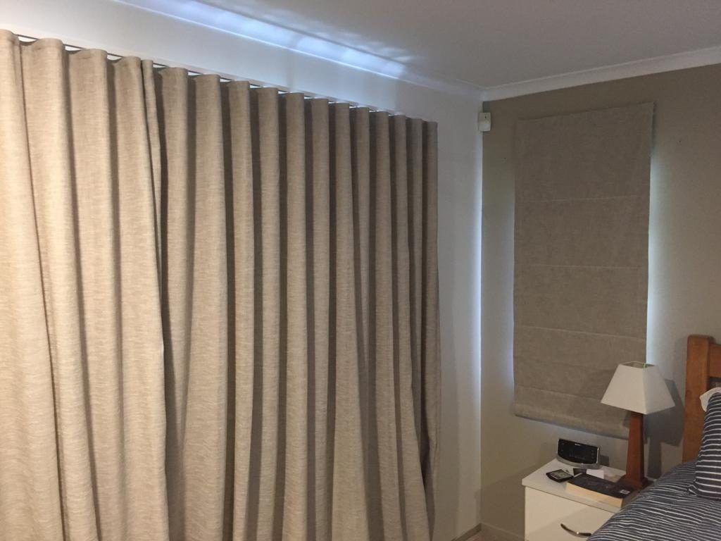 Cannes Linen Wave Curtain