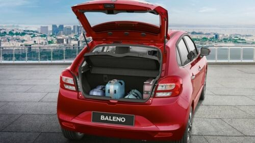 baleno boot space