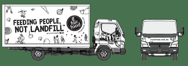 fair food trucks hdr