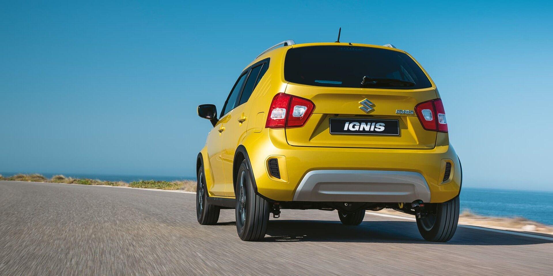 ignis yellow on beach roda