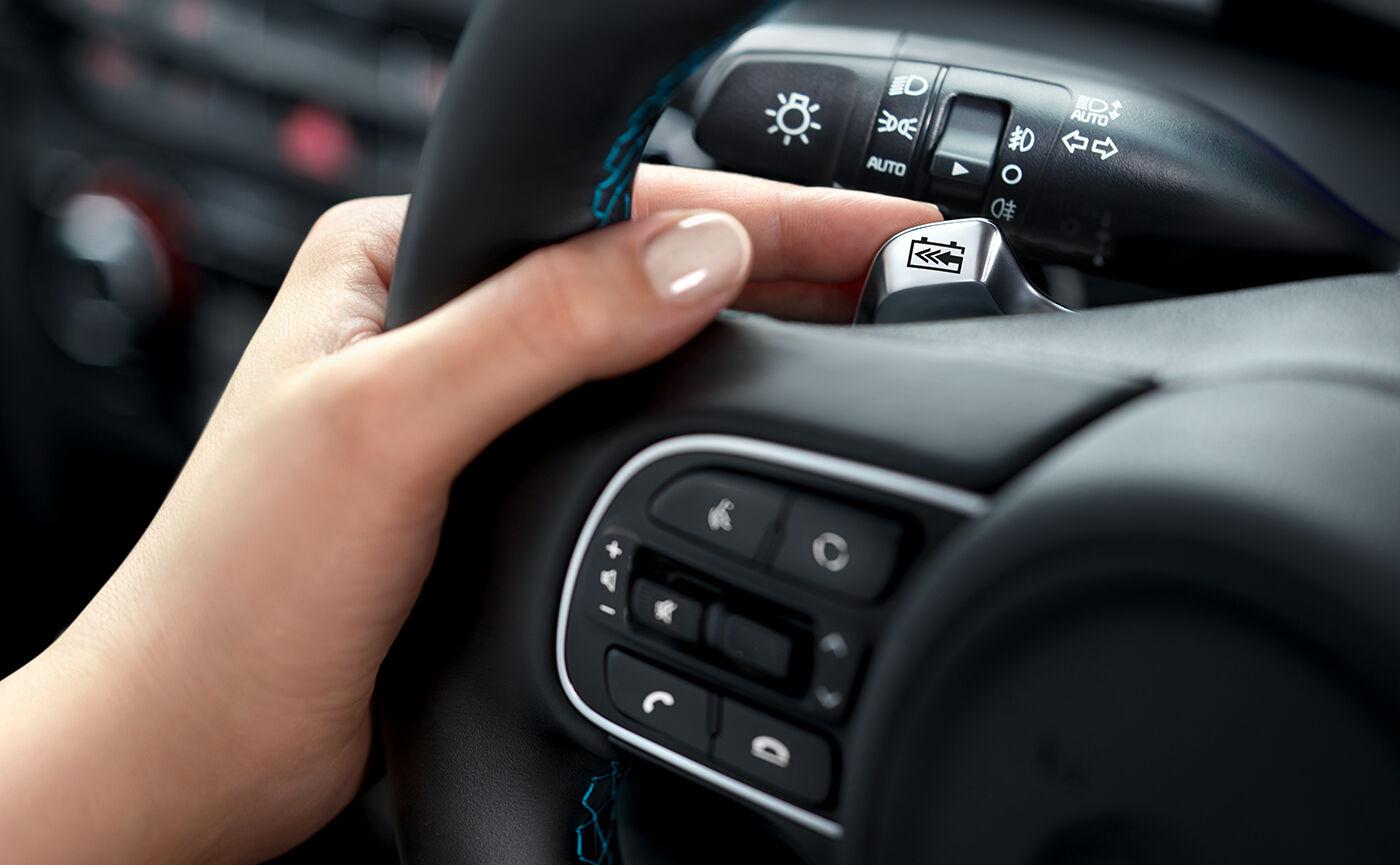 kia niro ev steering wheel controls