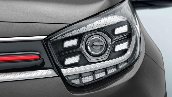 kia picanto headlight detail