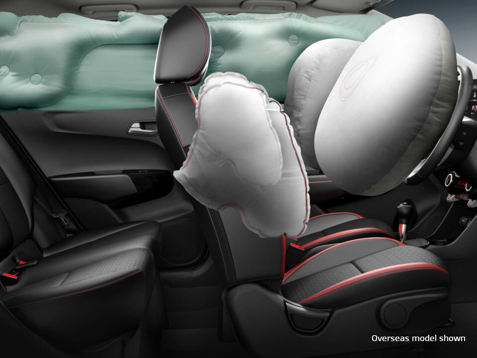 kia picanto safety airbags