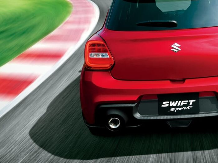 suzuki swift sport rear