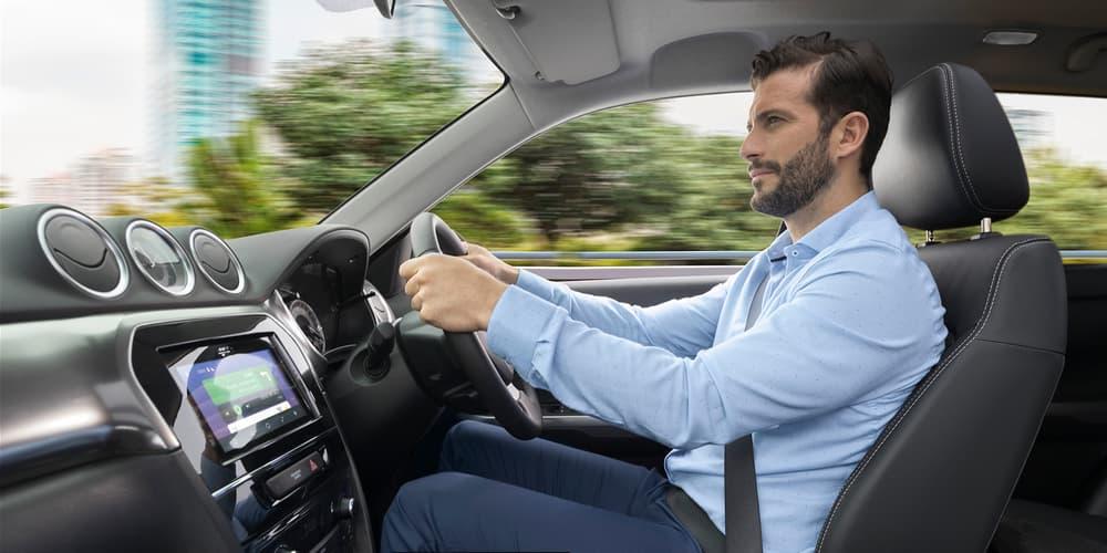 vitara man driving